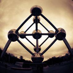 Strange Buildings #1 - Atomium, Brussels, Belgium