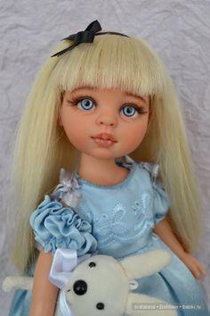 Алиса.ООАК куклы Паола Рейна / Paola Reina, Antonio Juan и другие испанские куклы / Бэйбики. Куклы фото. Одежда для кукол