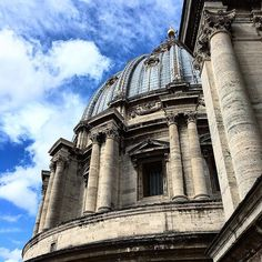 #vatican #cloudporn #traveltheworld #travelphotography #hubbyandwifey #couplegoals #rome #italy #italia #europe #eurotrip #europe2016 #vacation #tourist #tourism #iphone6s #nexus6p