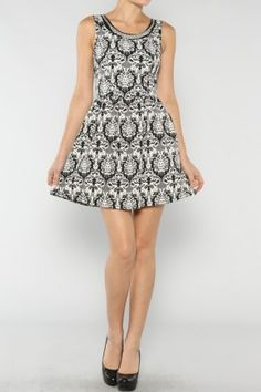 Vintage Flared Dress If you love vintage dresses salediem has the look for Fall #salediem #fall#fashion. Shipping is FREE!