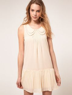 Vero Moda Pleat Skirt Dress.