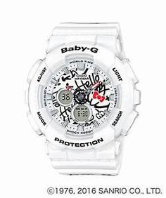 G-Shock Women s Analog-Digital Baby-G Limited Edition Hello Kitty White  Resin Strap Watch Jewelry   Watches - Watches - Macy s 6704cff42