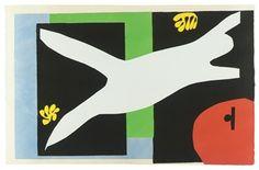 JAZZ: La Nageuse dans L'aquarium, by Henri Matisse