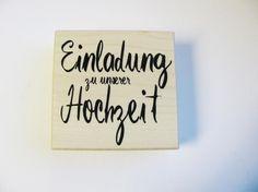 Einladung Zur Hochzeit, Trauung,Stempel, Embossing, Karten Individuell  Gestalten