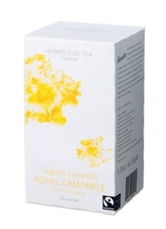 Hampstead Tea Organic Fairtrade Royal Camomile Tea 20Count Sachets Pack of 3 >>> Check this awesome product by going to the link at the image.