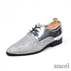 LL Mens PU Leather Shoes Wingtip Snake Skin Texture Vamp Lace Up Business Block Heel Lined Oxfords Breathable