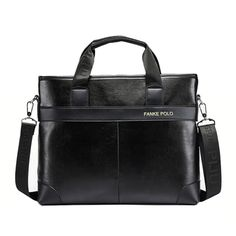 5a42c0799ff2 Man s Casual Messenger Travel Bag Business Office Laptop Bags For Man 2015  Leather Briefcases Men Maletin Hombre Cartable Homme-in Briefcases from  Luggage ...