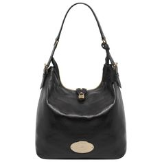 Mulberry Bella Hobo Black Soft Spongy Leather