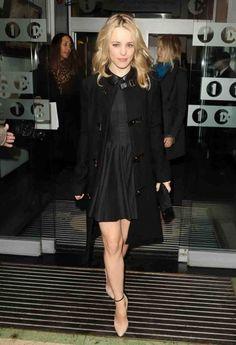 Rachel McAdams in London