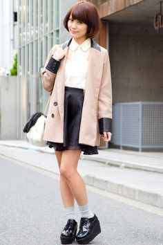 Japan Street Fashion Snap