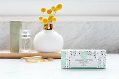 Introducing Honest Feminine Care - products made with GOTS certified organic cotton delivering the comfort and performance you expect. | Honest Organic Cotton Tampons, Non Applicator, Regular