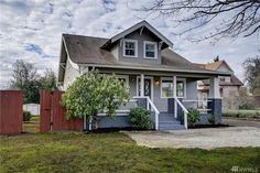 $249,900 - View 25 photos of this 3 Beds 1.0 Bath Craftsman home built in 1925. Refreshed 3-bed, 1-bath home sits on a HUGE corner lot that could be potent