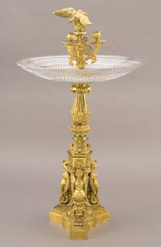 175: Monumental French Thomire gilt bronze centerpiece, : Lot 175
