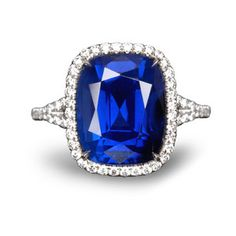 Image detail for -Blue sapphire rings fit right into that category. They are stunning to ...