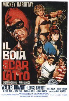 """Vierges pour le Bourreau (""""Il boia scarlatto""""), de Massimo Pupillo, 1965"""