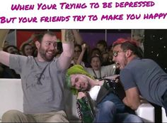 Oh gawd, I hate how people say 'you're trying to be depressed' because they think it means 'you want to be sad' or whatever but they don't know what being depressed it like, or what it actually means and this just really annoys me... :/ Best Youtubers, Youtube Gamer, Markiplier, Pewdiepie, Septiplier, Safety Scissors, Irish Leprechaun, I Can Relate, Existential Crisis