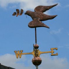 I love old weathervanes! I have a beautiful ship weathervane~but no place to display it!
