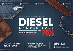 Diesel sample sale  -- London  -- 02/09
