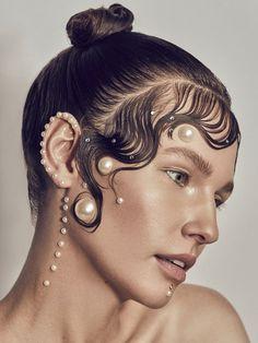 Makeup Art, Beauty Makeup, Eye Makeup, Hair Makeup, Hair Beauty, Pelo Editorial, Beauty Editorial, Editorial Fashion, Makeup Editorial