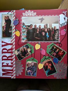 Creating A Children's Birthday Scrapbook – Scrapbooking Fun! Birthday Scrapbook Pages, Christmas Scrapbook Layouts, Scrapbook Designs, Scrapbook Sketches, Scrapbook Page Layouts, Scrapbook Paper Crafts, Scrapbook Cards, Scrapbooking Ideas, Christmas Layout