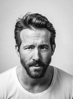 Looks like a mug shot but I love Ryan Reynolds Portrait Studio, Portrait Sketches, Sundance Film Festival, Celebrity Portraits, Famous Portraits, Face Expressions, Black And White Portraits, Hollywood Actor, Interesting Faces