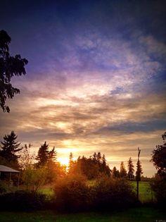 Lynden Sunset, October 6.