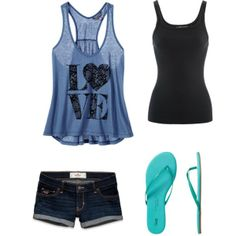 """""""Summer"""" by mpatterson3818 on Polyvore"""