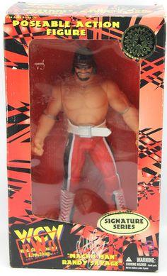 Macho Man Randy Savage WCW NWO Signature Series Action Figure Ltd Ed 1998 #OriginalSanFranciscoToymakers #weboys10