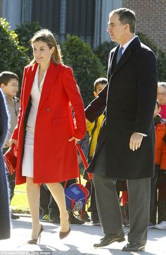 Before their important meeting, King Felipe VI and Queen Letizia brightened up the morning.