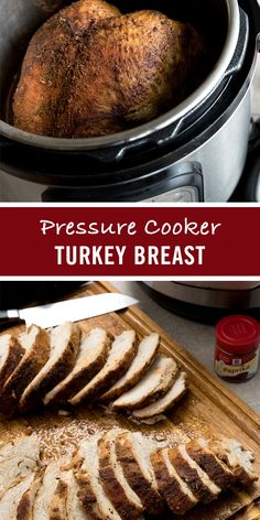 Move over roasted turkey. The pressure-cooked turkey is here! Seasoned with McCormick Garlic Powder, Paprika and Thyme, then seared and cooked in the same pot, this easy Thanksgiving turkey recipe comes out moist and delicious in just 40 minutes.