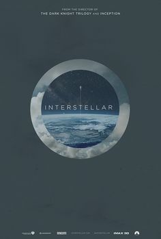 Fan-Made #Interstellar #Posters by James Fletcher