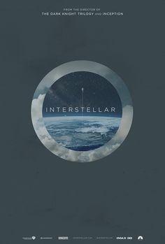 Fan-Made #Interstellar #Posters by James Fletcher