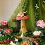 Festa de aniversário da floresta encantada