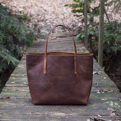 The Avery Leather Tote