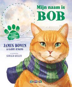Mijn naam is Bob ligt vanaf oktober in de boekhandels. Het prentenboek vertelt het verhaal van de bijzondere straatkat Bob voordat hij bij James terecht kwam.
