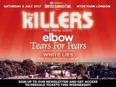 the killers London