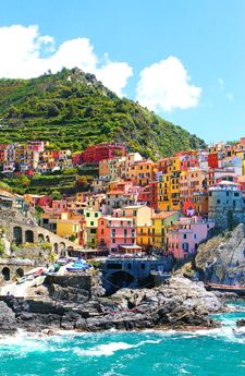 Santa Margherita Village, Liguria, Italy