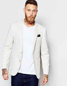 Check these out  ASOS Skinny Fit Blazer In Jersey - Oatmeal - http://www.fashionshop.net.au/shop/asos/asos-skinny-fit-blazer-in-jersey-oatmeal/ #ASOS, #Blazer, #ClothingAccessories, #Fit, #In, #Jersey, #Male, #Mens, #MensJackets, #Oatmeal #fashion #fashionshop