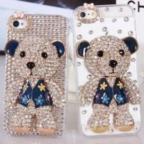 Free Shipping full crystal case $19.99 Package 1 full rhinestone case  if you want no full rhinestone case please check my store