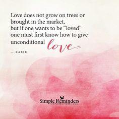 Unconditional Love♥♥♥