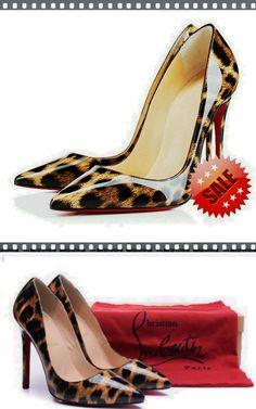 Christian Louboutin- Red bottom womens high heels REAL PICS newcomer gz pumps fashion high heel shoes sexy sandals women shoes women shoes Leopard
