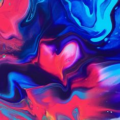 I am in LOVE with this wonderful pouring. The colors are amazing! Am In Love, Acrylic Pouring, My Arts, Colorful, Amazing, Beautiful