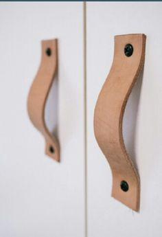 leather strap door handle - Google Search
