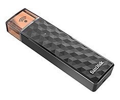 Memoria flash USB inalámbrica SanDisk Connect Wireless Stick de 64 GB Ver Chollo http://amzn.to/2ApiDVh   Es adecuado para su . Haz clic aquí para comprobar si este producto es compatible con tu modelo P.when(ReplacementPartsBulletLoader).execute(function(module){ module.initializeDPX(); }) La memoria flash reinventada para tu teléfono tableta y ordenador Guarda y accede a tus fotografías vídeos y archivos de forma inalámbrica Transmite varias películas HD y música hasta a tres dispositivos…