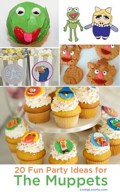 Adorable Muppets Party Ideas with Free Party Printables!
