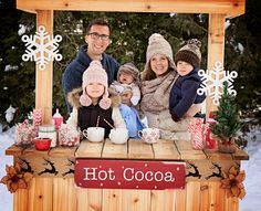 Hot cocoa stand winter pictures Photo credit Nicole Marie Photography