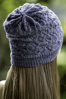 "Show off that gorgeous skein of 4 ply with the Little Birds Hat! :) To make it, you'll need roughly 250 yards of fingering/sock weight yarn and 16"" circular needles in size US 2 & 3, as well as a set of dpns in size US 3."
