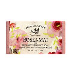Rose de Mai Shea Butter Soap by PRE DE PROVENCE