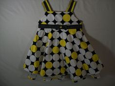 Rare Editions Girls Size 24 Months Multi-Color Polka Dot Dress Dressy Spring  #RareEditions #Dressy