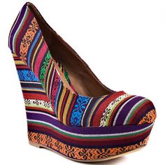 Cute wedge. a little shorter would be perfect